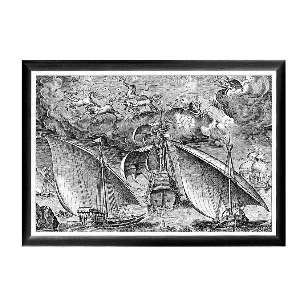 Object Desire Арт-постер «Брейгель: Дух войны меж двумя галерами»