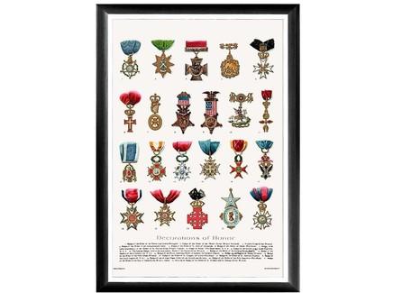 Арт-постер «искусство награды», каталог 1 (object desire) мультиколор 66.0x45.0x2.0 см.