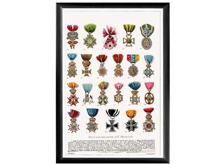 Арт-постер «искусство награды», каталог 2 (object desire) мультиколор 66.0x45.0x2.0 см.
