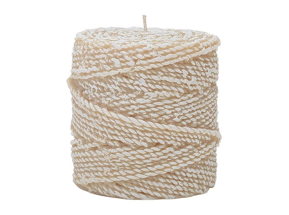 Свеча Twine 10 BuffСвечи<br>Долгогорящая свеча из натурального воска, коллекция Twine, аромат Fresh Linen. Время горения свечи - 50 часов.<br><br>Material: Воск<br>Высота см: 10