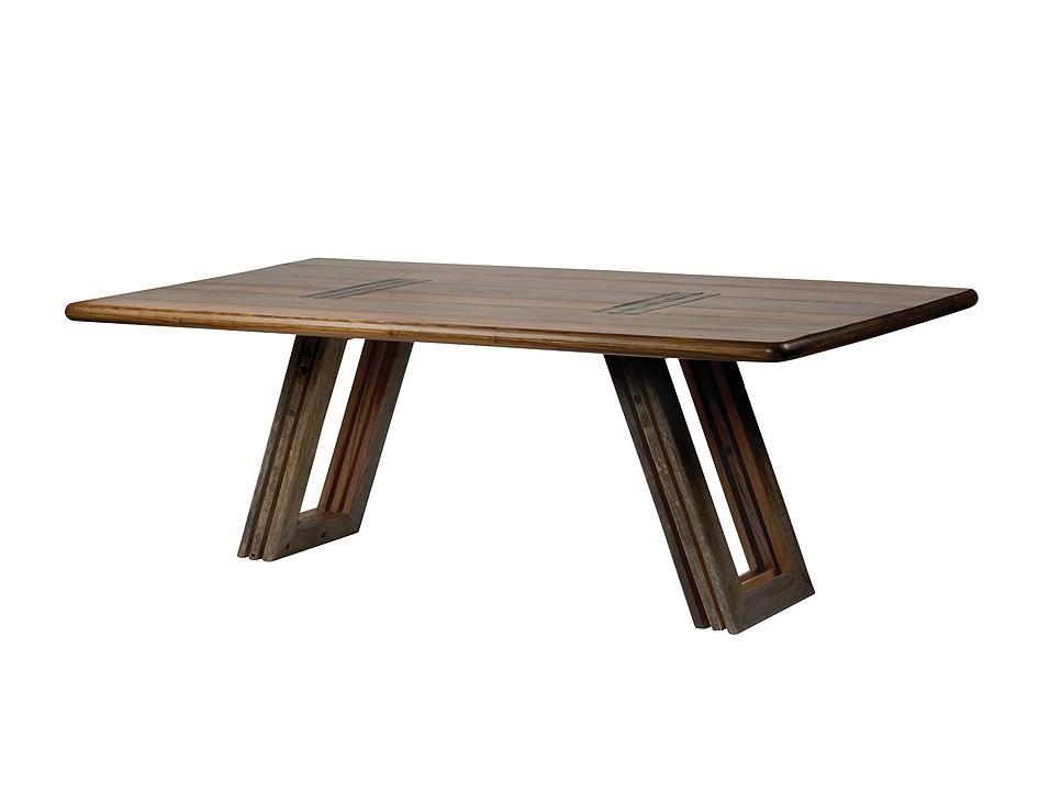 "Стол обеденный  ""Bobby"" 213Обеденные столы<br><br><br>Material: Тик<br>Ширина см: 104<br>Высота см: 74"