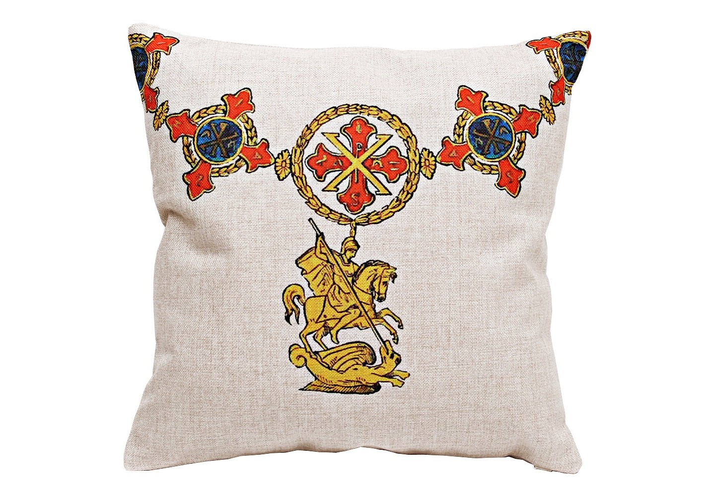 Декоративная подушка «Орден Св. Георгия, Италия»