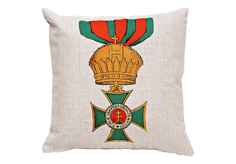 Декоративная подушка «Королевский Венгерский орден Святого Стефана»
