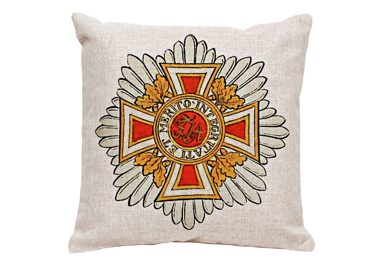 Декоративная подушка «Австрийский Императорский Орден Леопольда»