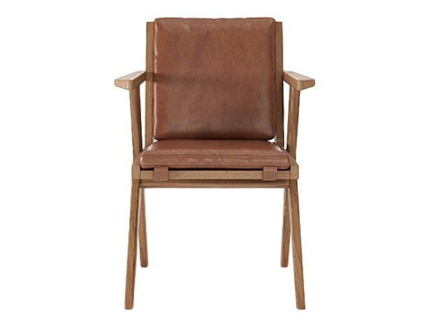 Кресло Tribute Интерьерные кресла<br>&amp;lt;div&amp;gt;Tribute VB - элегантное кабинетное кресло с подлокотниками. Изящность силуэту придают V-образные ножки. Особое удобство обеспечивают мягкие подушки сиденья и спинки из натуральной кожи. Их цвет - vintage brown. Подушки крепятся к каркасу ремнями.&amp;lt;/div&amp;gt;&amp;lt;div&amp;gt;&amp;lt;br&amp;gt;&amp;lt;/div&amp;gt;&amp;lt;div&amp;gt;Материал: кожа тик&amp;lt;br&amp;gt;&amp;lt;/div&amp;gt;<br><br>Material: Тик<br>Ширина см: 56<br>Высота см: 82<br>Глубина см: 59
