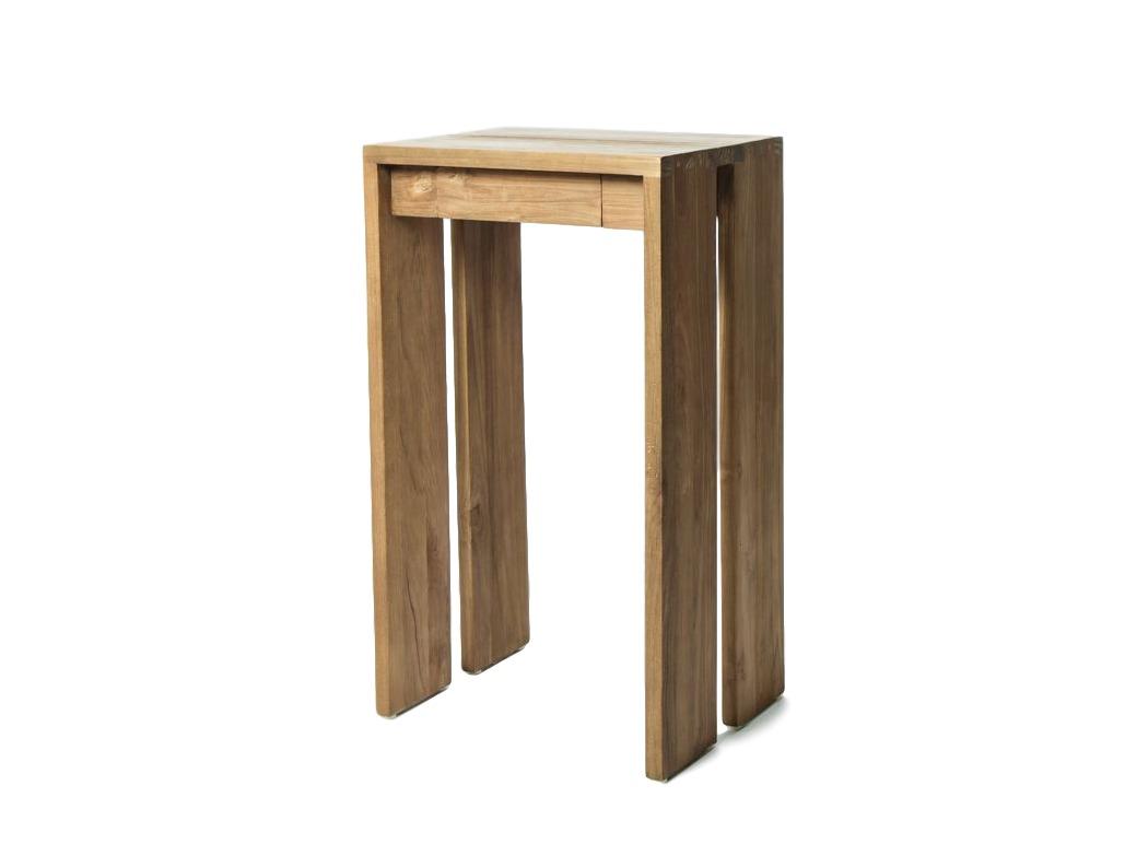 Стол консольный  TopsНеглубокие консоли<br>Небольшой и универсальный консольный стол с ящиком.<br><br>Material: Тик<br>Ширина см: 45.0<br>Высота см: 78.0<br>Глубина см: 35.0