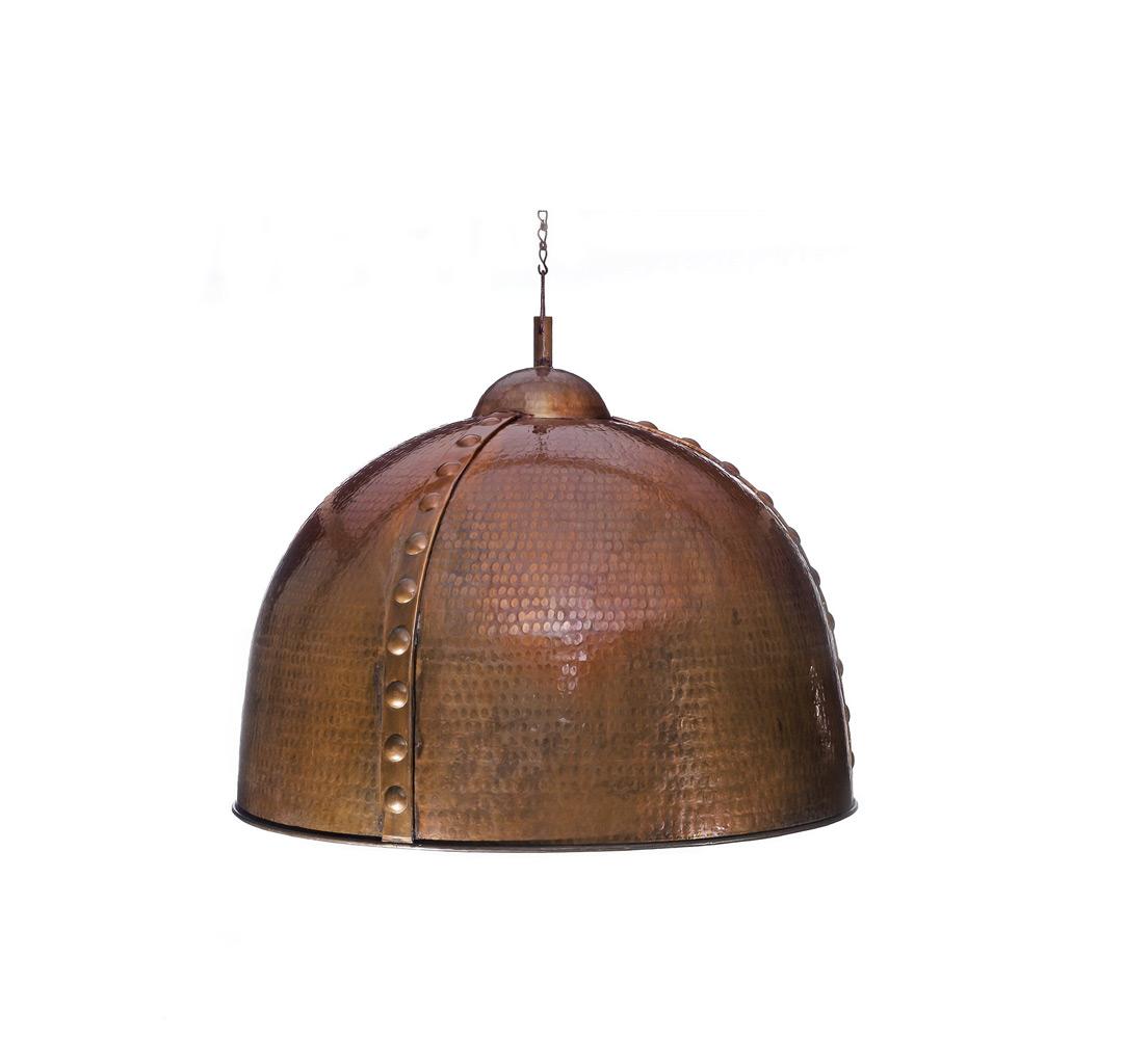 Медный светильник  №6 малыйПодвесные светильники<br>Возможен в трех размерах<br><br>Material: Медь<br>Height см: 41<br>Diameter см: 51.5