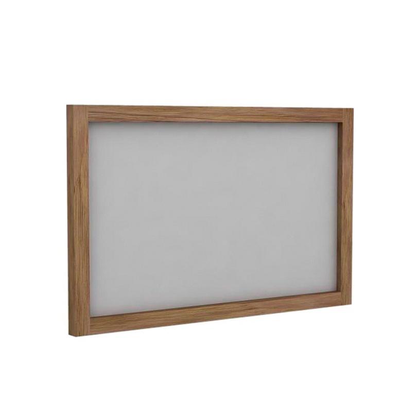ЗеркалоНастенные зеркала<br>Настенное зеркало прямоугольной формы можно повесить горизонтально или вертикально. Рама изготовлена из тикового дерева - прочного и влагоустойчивого, что позволит спокойно разместить зеркало во влажных помещениях - в ванной комнате, сауне или бане.<br><br>Material: Тик<br>Length см: None<br>Width см: 90<br>Depth см: 4.5<br>Height см: 60<br>Diameter см: None