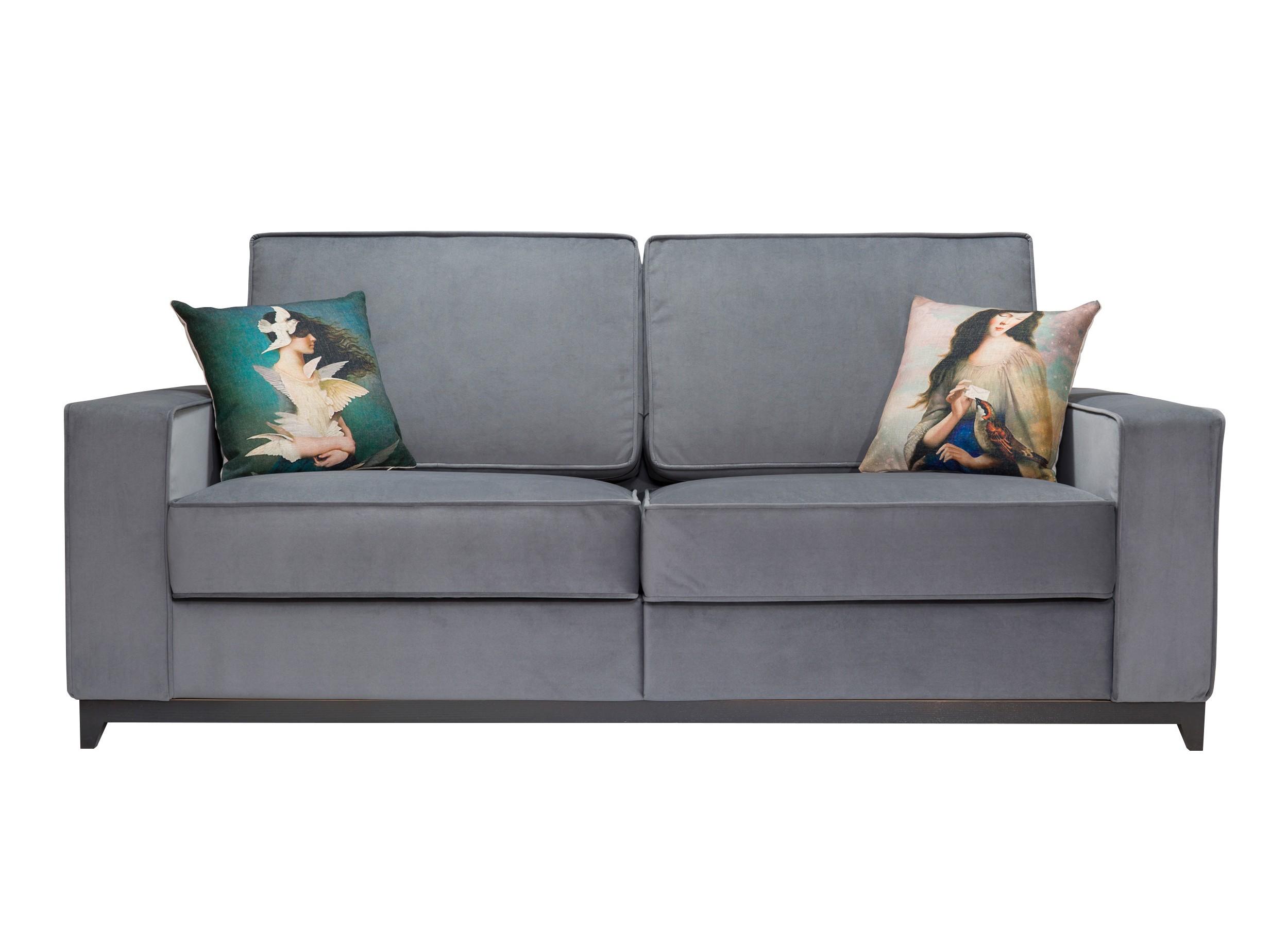 Myfurnish диван-кровать orlando серый 64907/40982