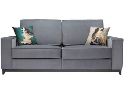 диван-кровать orlando (myfurnish) серый 200x80x90 см.