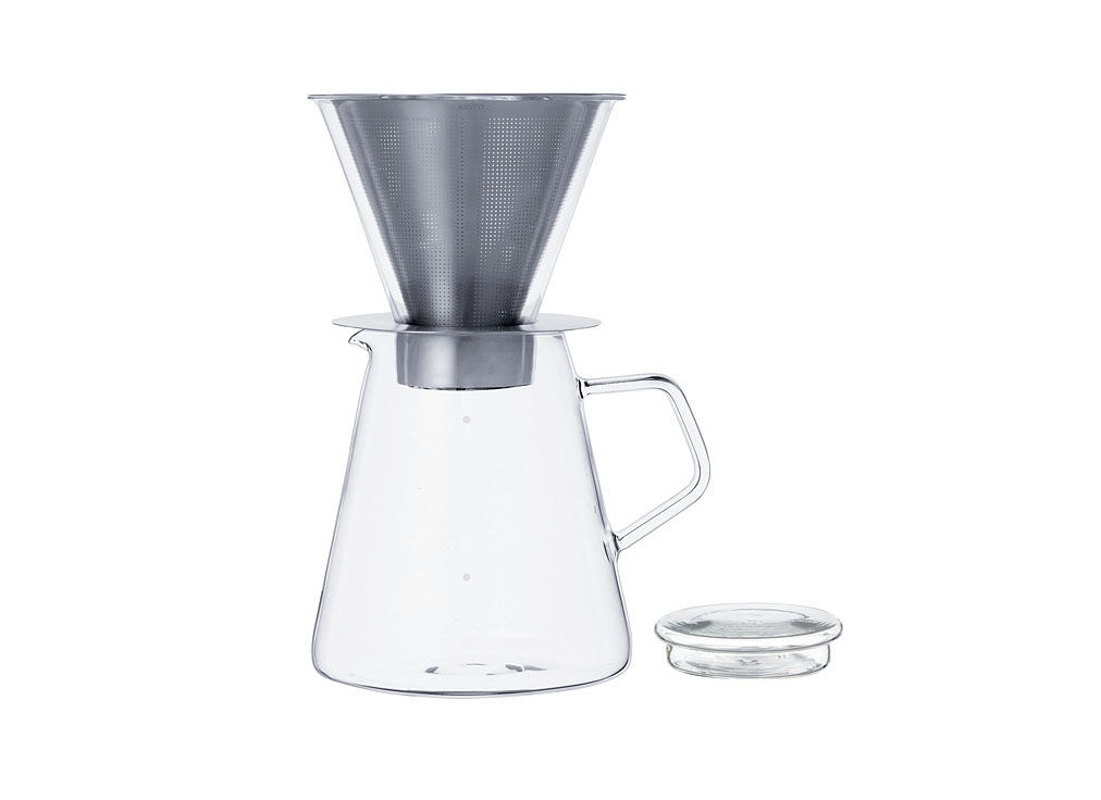 Кофейник с фильтром для заваривания CARATКофейники и молочники<br>Объем: &amp;amp;nbsp;720 мл.<br><br>Material: Стекло<br>Width см: 14<br>Depth см: 11,2<br>Height см: 20,5