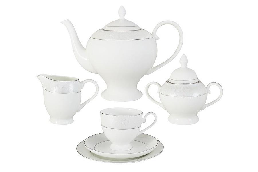 """Чайный сервиз 21 предмет на 6 персон """"Мелисента"""""""