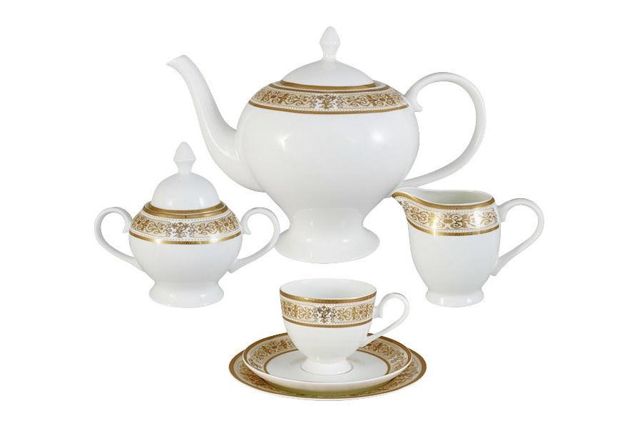 Emerald Чайный сервиз 21 предмет на 6 персон Шарлотта emily чайный сервиз 21 предмет на 6 персон венеция
