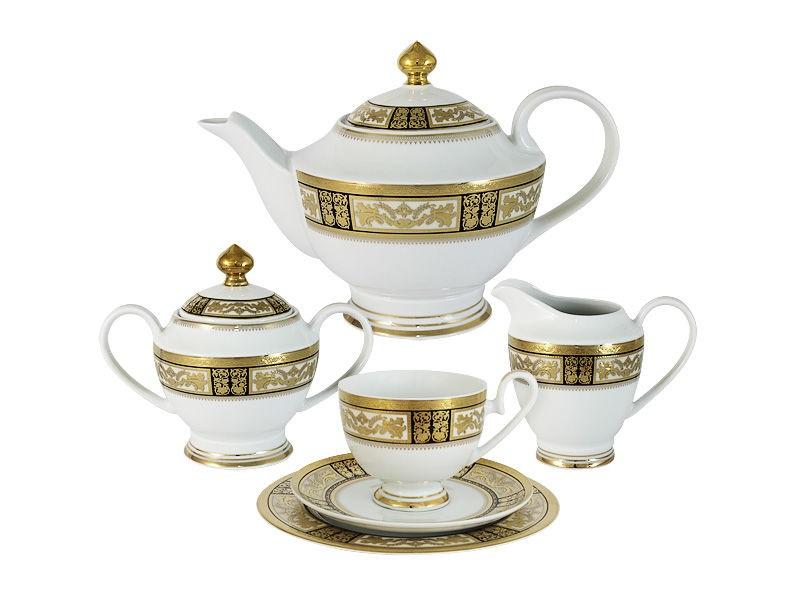 """Чайный сервиз 23 предмета на 6 персон """"Елизавета"""""""