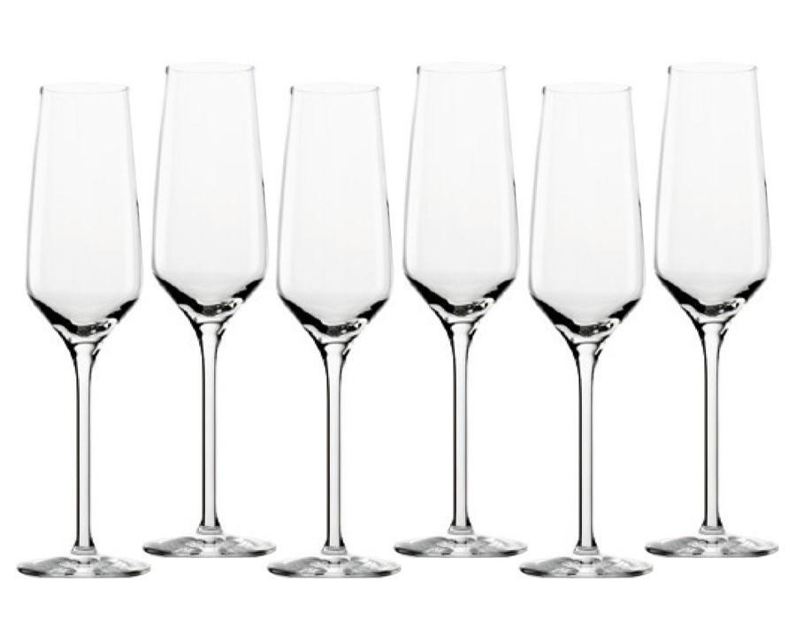 Набор бокалов для шампанского Experience (6 шт)Бокалы<br><br><br>Material: Стекло