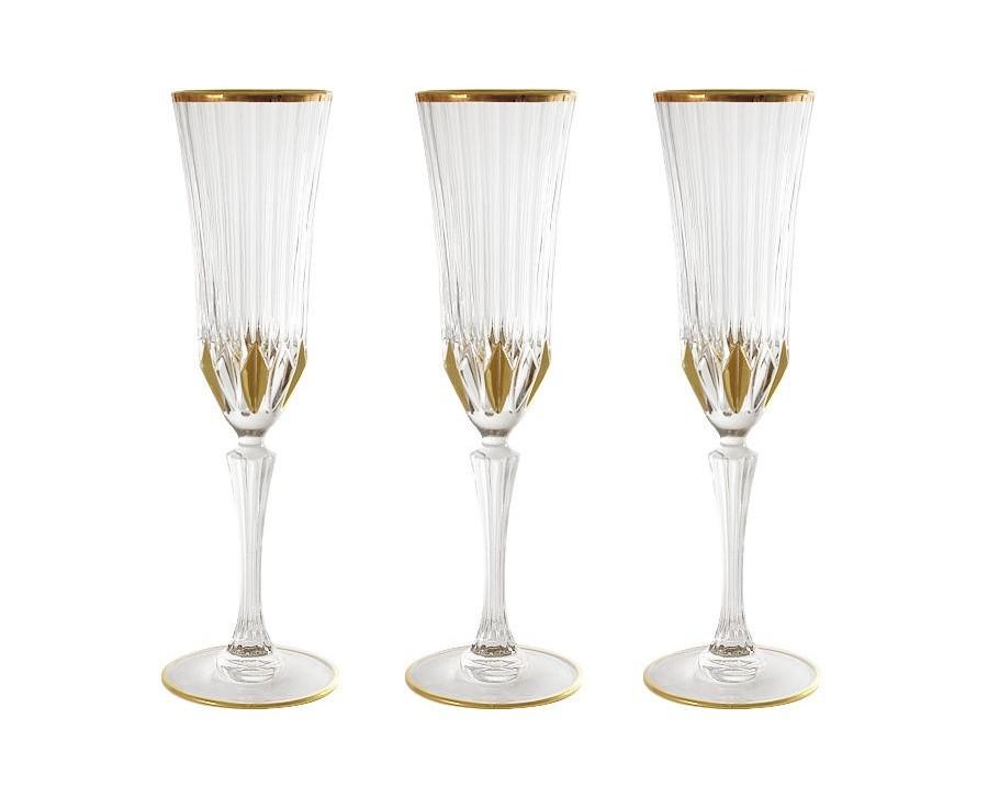 Набор бокалов для шампанского Адажио (6 шт)Бокалы<br>&amp;lt;span style=&amp;quot;font-size: 14px;&amp;quot;&amp;gt;Объем: 0,15 л.&amp;lt;/span&amp;gt;<br><br>Material: Стекло<br>Height см: 24.5<br>Diameter см: 7,5