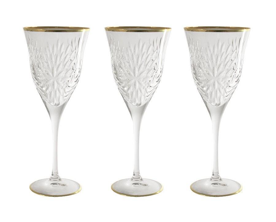 Бокалы для вина Умбрия - золото (6 шт)Бокалы<br>&amp;lt;span style=&amp;quot;font-size: 14px;&amp;quot;&amp;gt;Объем: 0,25 л.&amp;lt;/span&amp;gt;<br><br>Material: Хрусталь
