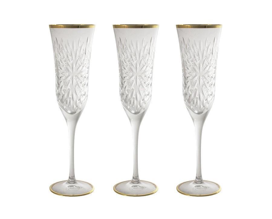 Бокалы для шампанского Умбрия - золото (6 шт)Бокалы<br>&amp;lt;span style=&amp;quot;font-size: 14px;&amp;quot;&amp;gt;Объем: 0,15 л.&amp;lt;/span&amp;gt;<br><br>Material: Хрусталь<br>Height см: 24.3<br>Diameter см: 6.5