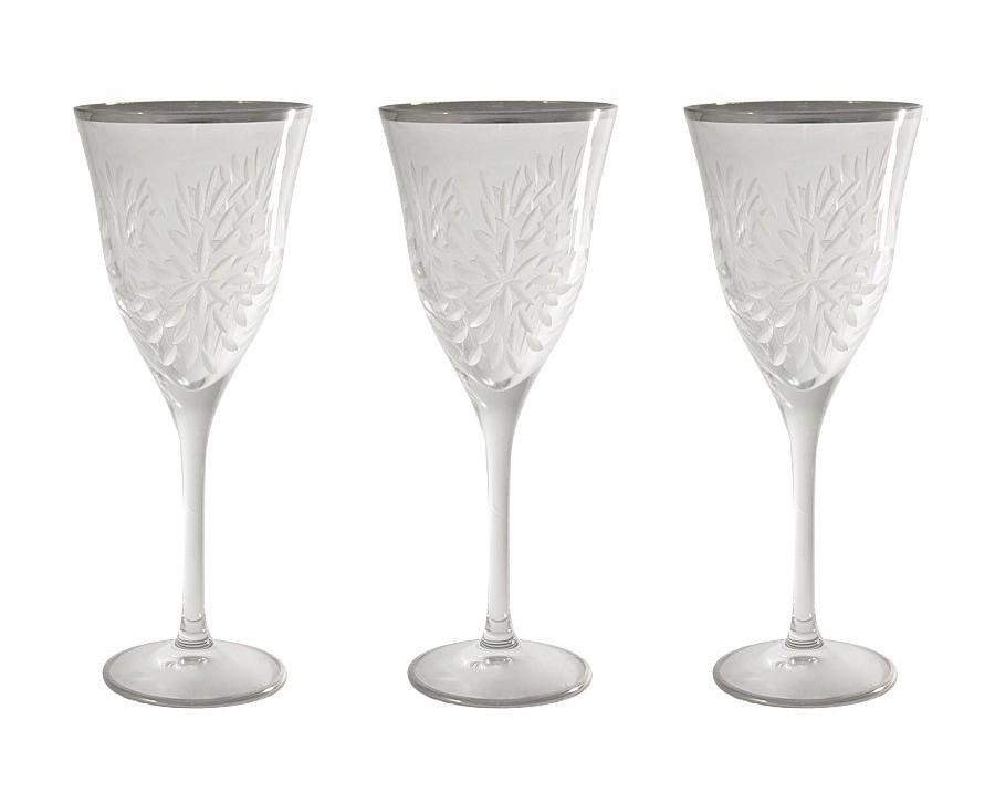 Бокалы для вина Умбрия Матовая - платина (6 шт)Бокалы<br>&amp;lt;span style=&amp;quot;font-size: 14px;&amp;quot;&amp;gt;Объем: 0,25 л.&amp;lt;/span&amp;gt;<br><br>Material: Хрусталь