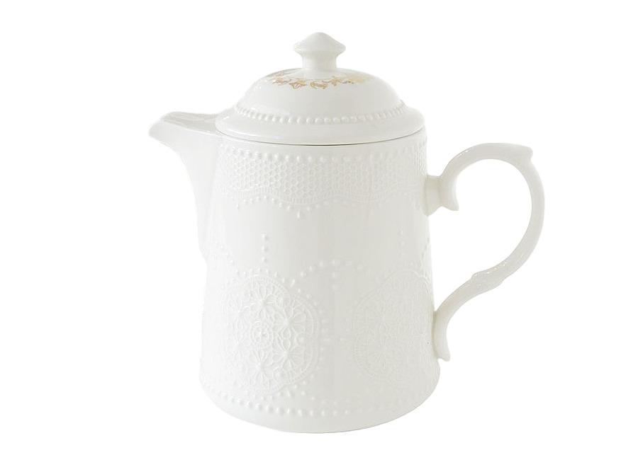 """Чайник """"Белое кружево"""""""