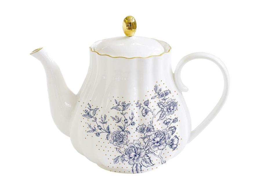 "Чайник ""Голубые пионы"""