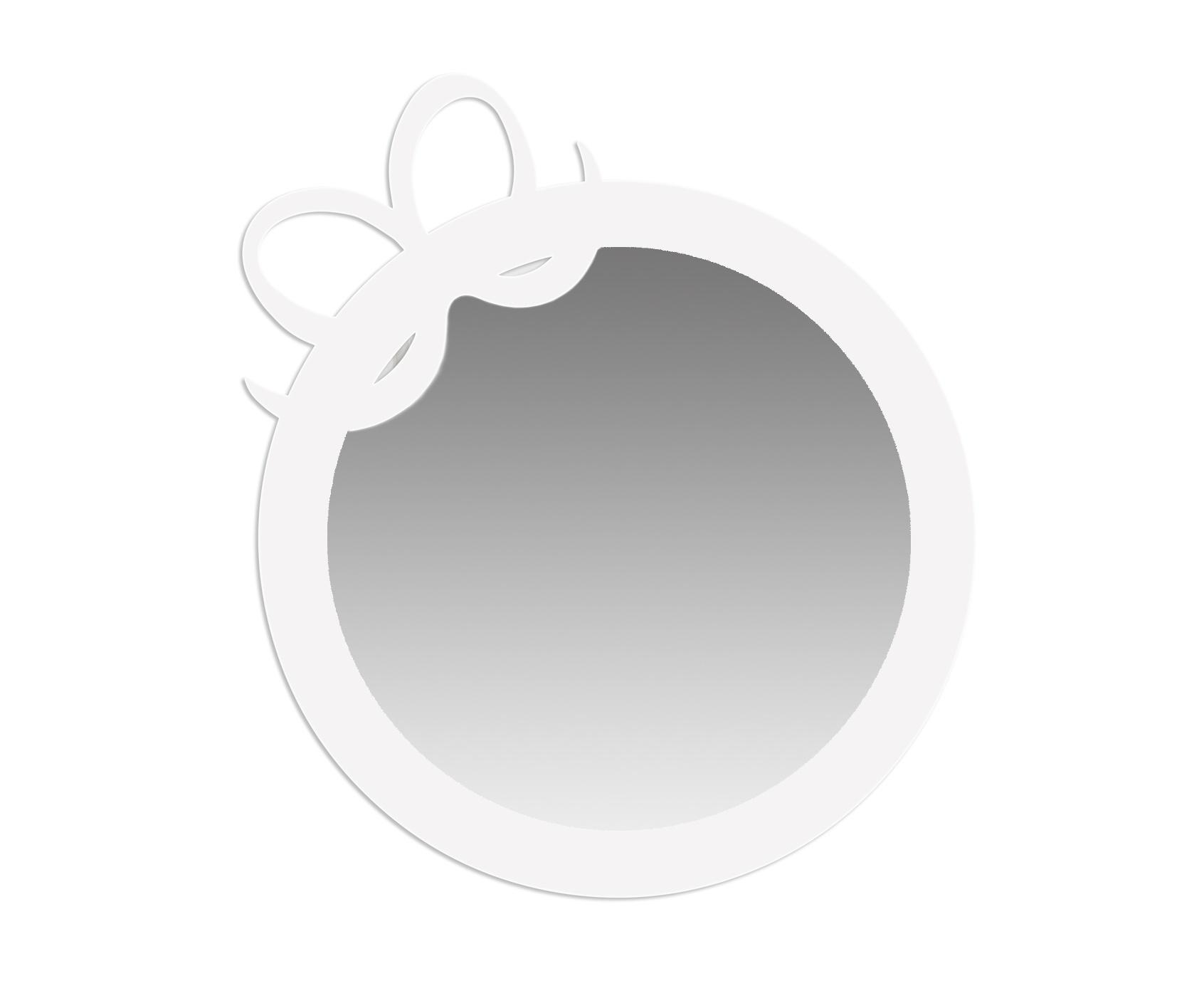 Зеркало RIBBONНастенные зеркала<br>Поощряйте самопознание и повышайте самооценку Ваших маленьких, с этим очаровательным зеркалом, в форме бантика. Зеркало RIBBON станет настоящим украшением комнаты девочки. <br>Настенное зеркало RIBBON выполнено в минималистическом стиле и легко комбинируется с другими предметами мебели.<br><br>Material: Сталь<br>Ширина см: 52<br>Высота см: 43