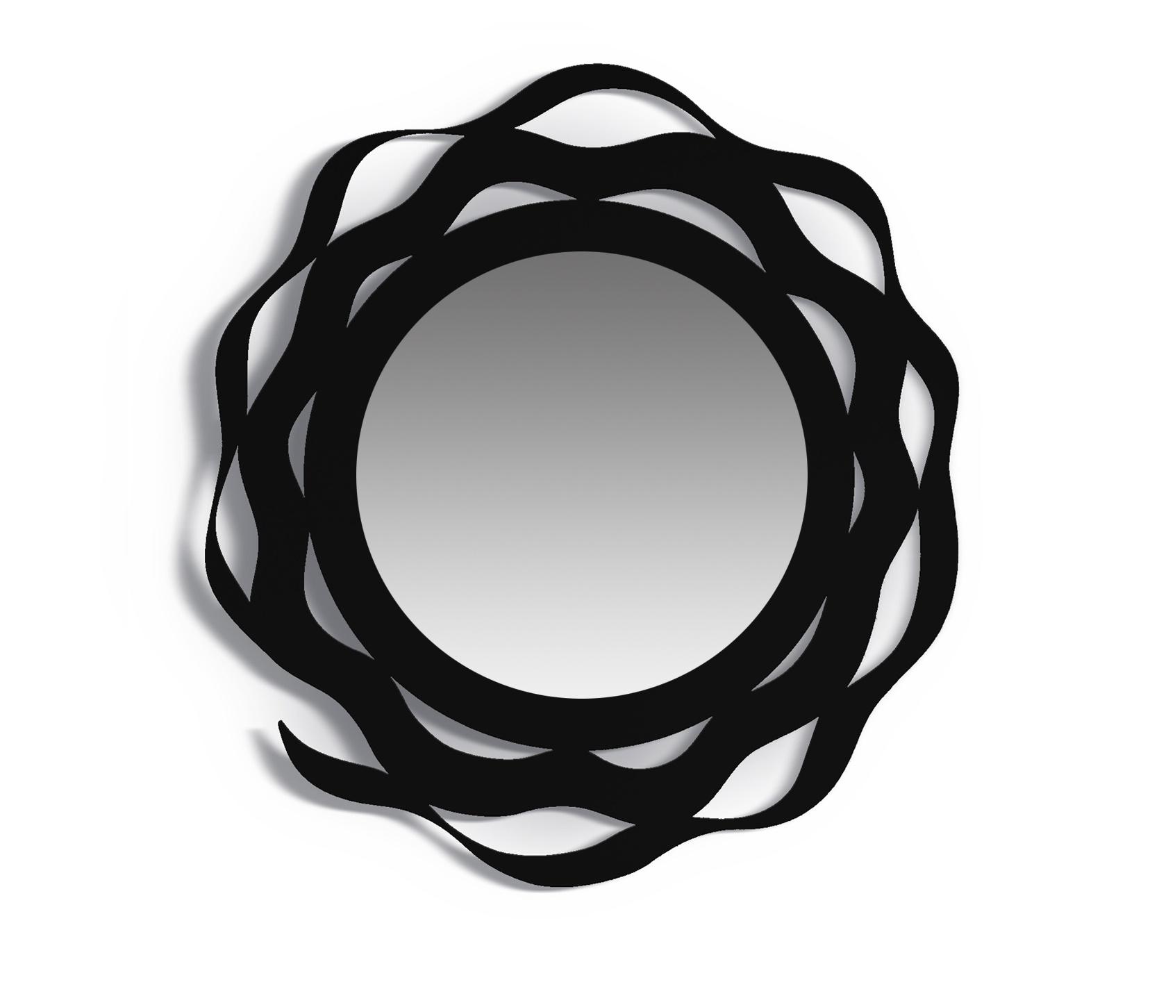 Зеркало SPLASHНастенные зеркала<br>Зеркало SPLASH отличается уникальным, <br>минималистическим дизайном.Такой предмет интерьера станет стильной <br>деталью в интерьере гастиной или спальни.<br><br>Material: Сталь