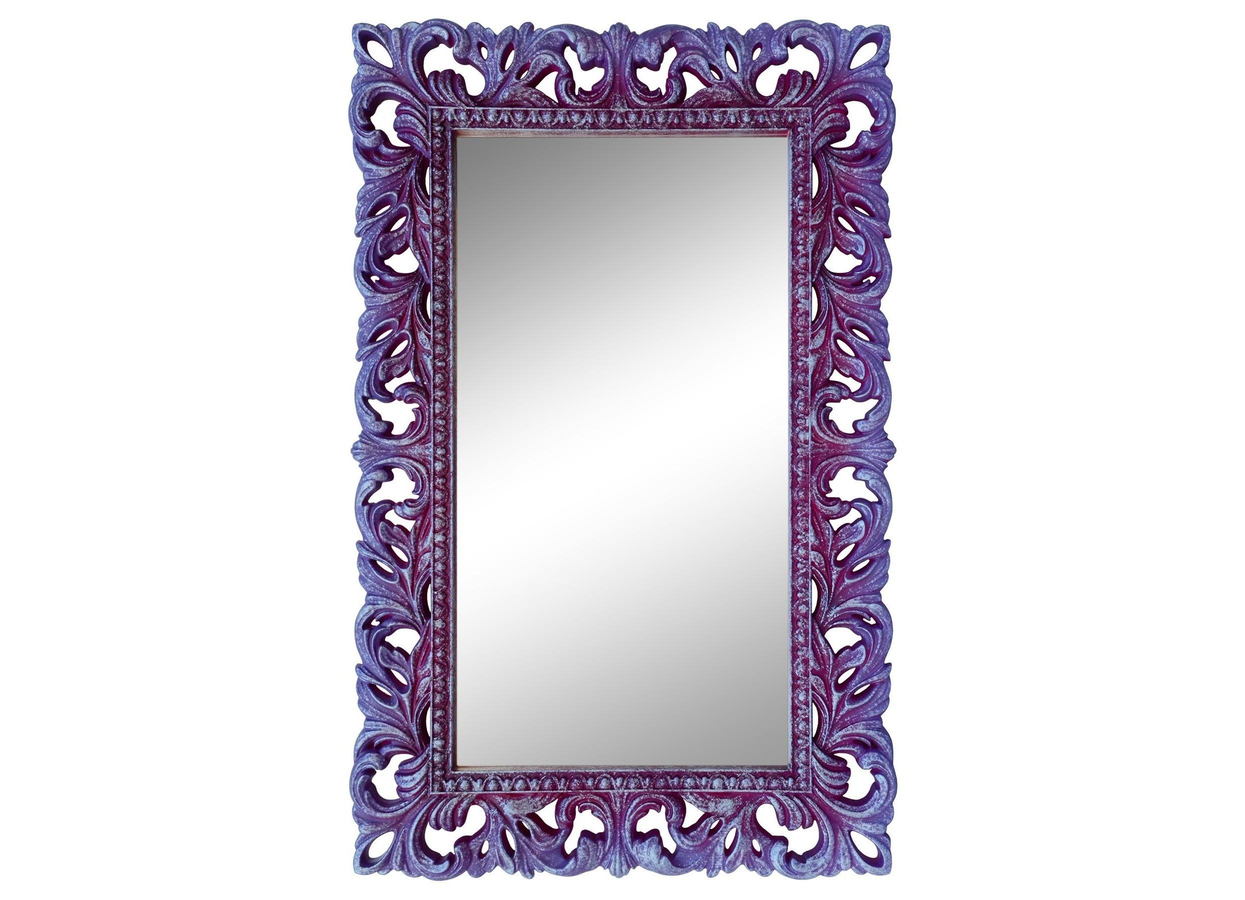 Интерьерное Итальянское зеркалоНастенные зеркала<br>&amp;lt;div&amp;gt;&amp;lt;div&amp;gt;Раме этого зеркала позавидуют шедевры Эрмитажа. Ее украшает сложная резьба, сделанная вручную по мебельному пенополиуретану ? материалу современному, подходящему для реализации даже самых сложных авторских задумок. Например ? имитации барочных узоров. Поверхность ППУ прочна и позволяет делать вещи на века, она твердая и не деформируется, отлично сохраняет лакокрасочное покрытие.&amp;lt;/div&amp;gt;&amp;lt;/div&amp;gt;&amp;lt;div&amp;gt;&amp;lt;br&amp;gt;&amp;lt;/div&amp;gt;&amp;lt;div&amp;gt;Цвет:&amp;amp;nbsp;Сирень Серебро&amp;lt;/div&amp;gt;<br><br>Material: Полиуретан<br>Ширина см: 63<br>Высота см: 95<br>Глубина см: 4