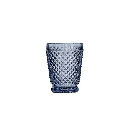 СтаканСтаканы<br>Фабрика VISTA ALEGRE с 1824 года изготавливает изделия из цветного стекла , смешивая песок и натуральные пигменты. Стеклянные изделия создают ручным способом путем заливания в пресс-формы жидкого стекла. Уникальные цвета и узоры на изделиях позволяют использовать их в любых интерьерных стилях, будь то Шебби шик, арт деко, богемный шик, винтаж или современный стиль.&amp;lt;div&amp;gt;&amp;lt;br&amp;gt;&amp;lt;/div&amp;gt;&amp;lt;div&amp;gt;Объем: 200 мл&amp;lt;/div&amp;gt;<br><br>Material: Стекло