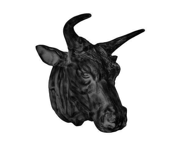 Голова БыкаФигуры<br>RESTORATION HARDWARE – культовый бренд для дизайнеров всего мира.Готовые интерьеры и отдельные предметы мебели и декора RESTORATION HARDWARE практически сразу стали «секретным оружием» престижных дизайнеров, которые используют безупречную продукцию RESTORATION HARDWARE для оформления жилых и общественных помещений.<br><br>Material: Металл<br>Width см: 51<br>Depth см: 56<br>Height см: 61