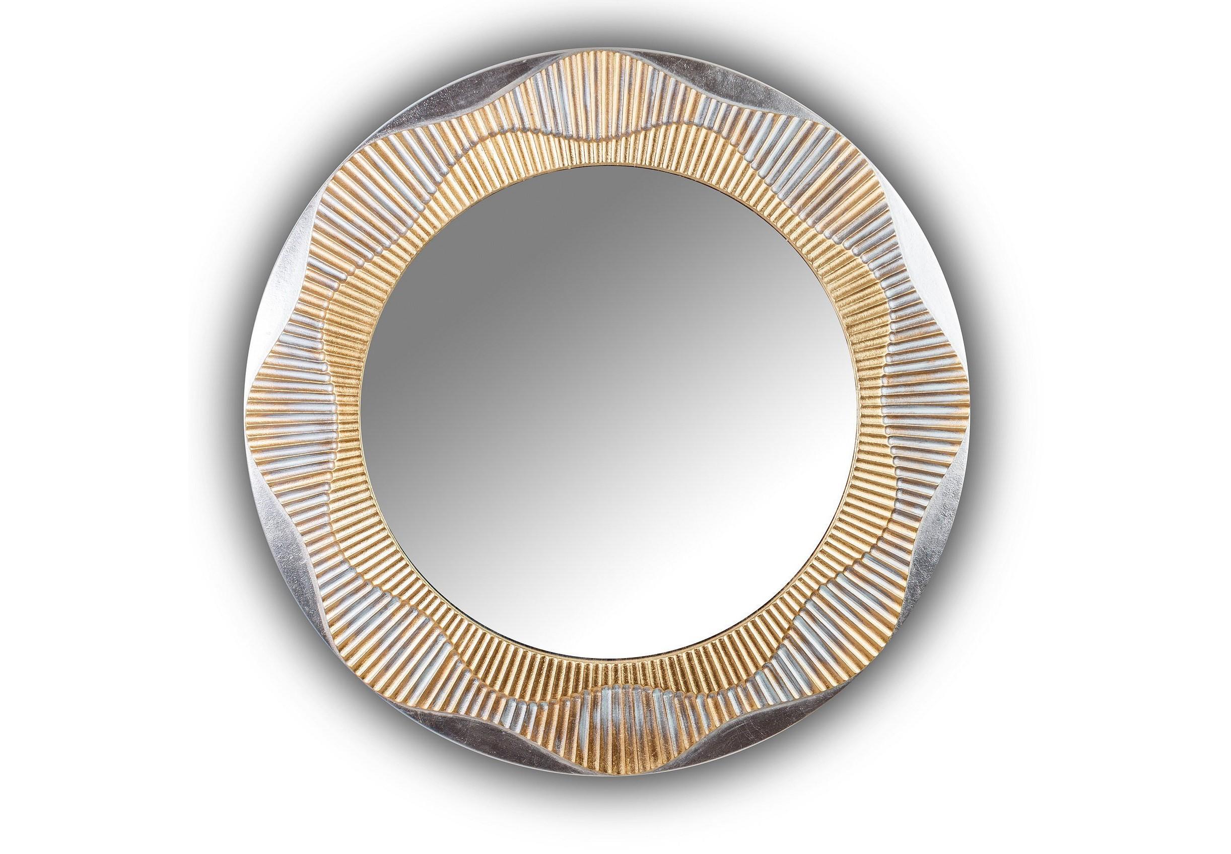 Зеркало FASHION SEASHELLНастенные зеркала<br>Данный вариант представлен в золотом и серебряном цвете.<br><br>Material: Дерево<br>Глубина см: 3