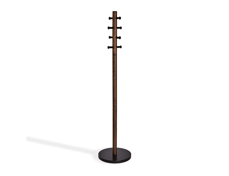 Вешалка напольная PillarВешалки<br>Стильная деревянная напольная вешалка с 8 металлическими крючками. Утяжелённое широкое основание на даст вешалке упасть или покачнуться даже при неравномерно распределённой нагрузке или большом весе одежды. Крючки расположены по кругу, поэтому вешать вещи очень удобно.&amp;amp;nbsp;&amp;lt;div&amp;gt;&amp;lt;br&amp;gt;&amp;lt;/div&amp;gt;&amp;lt;div&amp;gt;Материал: дерево, металл&amp;lt;/div&amp;gt;<br><br>Material: Дерево<br>Высота см: 165