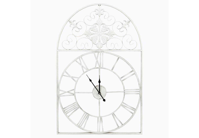 Часы «Кружево небес»Настенные часы<br>&amp;lt;div&amp;gt;Предметы интерьера, выполненные из тонких кружевных линий, вселяют восторг простора и невесомости. Арочная форма часов «Кружева небес» увенчана кружевным узором, придающим лаконичному силуэту эффект пышности и дворцового благородства. Прозрачный кружевной орнамент часов эффектно подчеркнет как цветные обои, так и в однотонные стены, независимо от цветового фона Вашего интерьера. Классический цвет оправы - залог гармонии с большинством предметов мебели и декора. Они прочны и неприхотливы в уходе. Часы имеют удобное крепление для стены. Чтобы часы начали свой ход, просто снабдите их батарейкой, которая легко крепится с оборотной стороны часов.&amp;amp;nbsp;&amp;lt;/div&amp;gt;&amp;lt;div&amp;gt;&amp;lt;br&amp;gt;&amp;lt;/div&amp;gt;&amp;lt;div&amp;gt;Тип батарейки: LR14 C 1,5 В. Необходимое количество батареек: 1 шт.&amp;amp;nbsp;&amp;lt;/div&amp;gt;&amp;lt;div&amp;gt;Батарейка в комплект изделия не входит.&amp;lt;/div&amp;gt;&amp;lt;div&amp;gt;&amp;lt;br&amp;gt;&amp;lt;/div&amp;gt;<br><br>&amp;lt;iframe width=&amp;quot;530&amp;quot; height=&amp;quot;360&amp;quot; src=&amp;quot;https://www.youtube.com/embed/argW-rqmbN4&amp;quot; frameborder=&amp;quot;0&amp;quot; allowfullscreen=&amp;quot;&amp;quot;&amp;gt;&amp;lt;/iframe&amp;gt;<br><br>Material: Металл<br>Width см: 60<br>Depth см: 5<br>Height см: 93