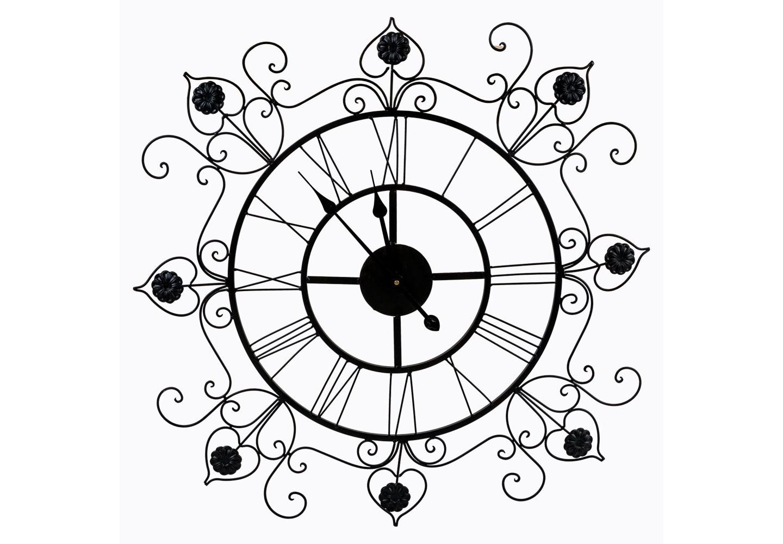 Часы ФрансуазаНастенные часы<br>&amp;lt;div&amp;gt;Предметы интерьера, выполненные из тонких кружевных узоров, вселяют восторг простора и невесомости. Прозрачный ажурный орнамент часов &amp;quot;Франсуаза&amp;quot; эффектно подчеркнет как цветные обои, так и однотонные стены, независимо от цветового фона Вашего интерьера. Ведущую роль антикварного дизайна несет изящный витиеватый орнамент в почерке французского дворцового классицизма. Дух старины вдыхают в интерьер ауру умиротворения, уюта и тепла. Классический черный цвет - залог соседства с большинством предметов мебели и декора. Металлические аксессуары прочны, долговечны и неприхотливы в уходе. Часы имеют удобное крепление для стены. Чтобы часы начали свой ход, просто снабдите их батарейкой, которая легко крепится с оборотной стороны часов.&amp;amp;nbsp;&amp;lt;/div&amp;gt;&amp;lt;div&amp;gt;&amp;lt;br&amp;gt;&amp;lt;/div&amp;gt;&amp;lt;div&amp;gt;Тип батарейки: LR14 C 1,5 В. Необходимое количество батареек: 1 шт. Батарейка в комплект изделия не входит.&amp;lt;/div&amp;gt;&amp;lt;div&amp;gt;&amp;lt;br&amp;gt;&amp;lt;/div&amp;gt;<br><br>&amp;lt;iframe width=&amp;quot;530&amp;quot; height=&amp;quot;360&amp;quot; src=&amp;quot;https://www.youtube.com/embed/argW-rqmbN4&amp;quot; frameborder=&amp;quot;0&amp;quot; allowfullscreen=&amp;quot;&amp;quot;&amp;gt;&amp;lt;/iframe&amp;gt;<br><br>Material: Металл<br>Width см: 84<br>Depth см: 6<br>Height см: 85