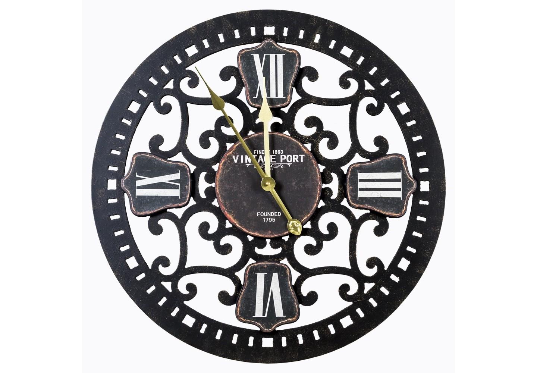 Часы «Гамильтон»Настенные часы<br>&amp;lt;div&amp;gt;Плавный кружевной узор часов &amp;quot;Гамильтон&amp;quot; вдыхает в интерьер романтически-беззаботную ретро-атмосферу. Мотивы древнего &amp;quot;барокко&amp;quot;, исполненные средствами современного &amp;quot;лофта&amp;quot;, гарантируют Вам точное попадание в любой интерьерный стиль. Яркие харизматичные элементы дизайна уместны в любом доме, приветствующем индивидуальность и стиль. Подобно мишени, в любом из домашних помещений часы &amp;quot;Гамильтон&amp;quot; моментально завоюют центр интерьерного внимания. Классический черный цвет - залог соседства с большинством предметов мебели и декора. Часы имеют удобное крепление для стены. Вам остается лишь выбрать для них почетное место.&amp;amp;nbsp;&amp;lt;/div&amp;gt;&amp;lt;div&amp;gt;&amp;lt;br&amp;gt;&amp;lt;/div&amp;gt;&amp;lt;div&amp;gt;Тип батарейки: LR14 C 1,5 В. Необходимое количество батареек: 1 шт.&amp;amp;nbsp;&amp;lt;/div&amp;gt;&amp;lt;div&amp;gt;Батарейка в комплект изделия не входит.&amp;lt;/div&amp;gt;&amp;lt;div&amp;gt;&amp;lt;br&amp;gt;&amp;lt;/div&amp;gt;<br><br>&amp;lt;iframe width=&amp;quot;530&amp;quot; height=&amp;quot;360&amp;quot; src=&amp;quot;https://www.youtube.com/embed/argW-rqmbN4&amp;quot; frameborder=&amp;quot;0&amp;quot; allowfullscreen=&amp;quot;&amp;quot;&amp;gt;&amp;lt;/iframe&amp;gt;<br><br>Material: Металл<br>Ширина см: 60<br>Высота см: 60<br>Глубина см: 4