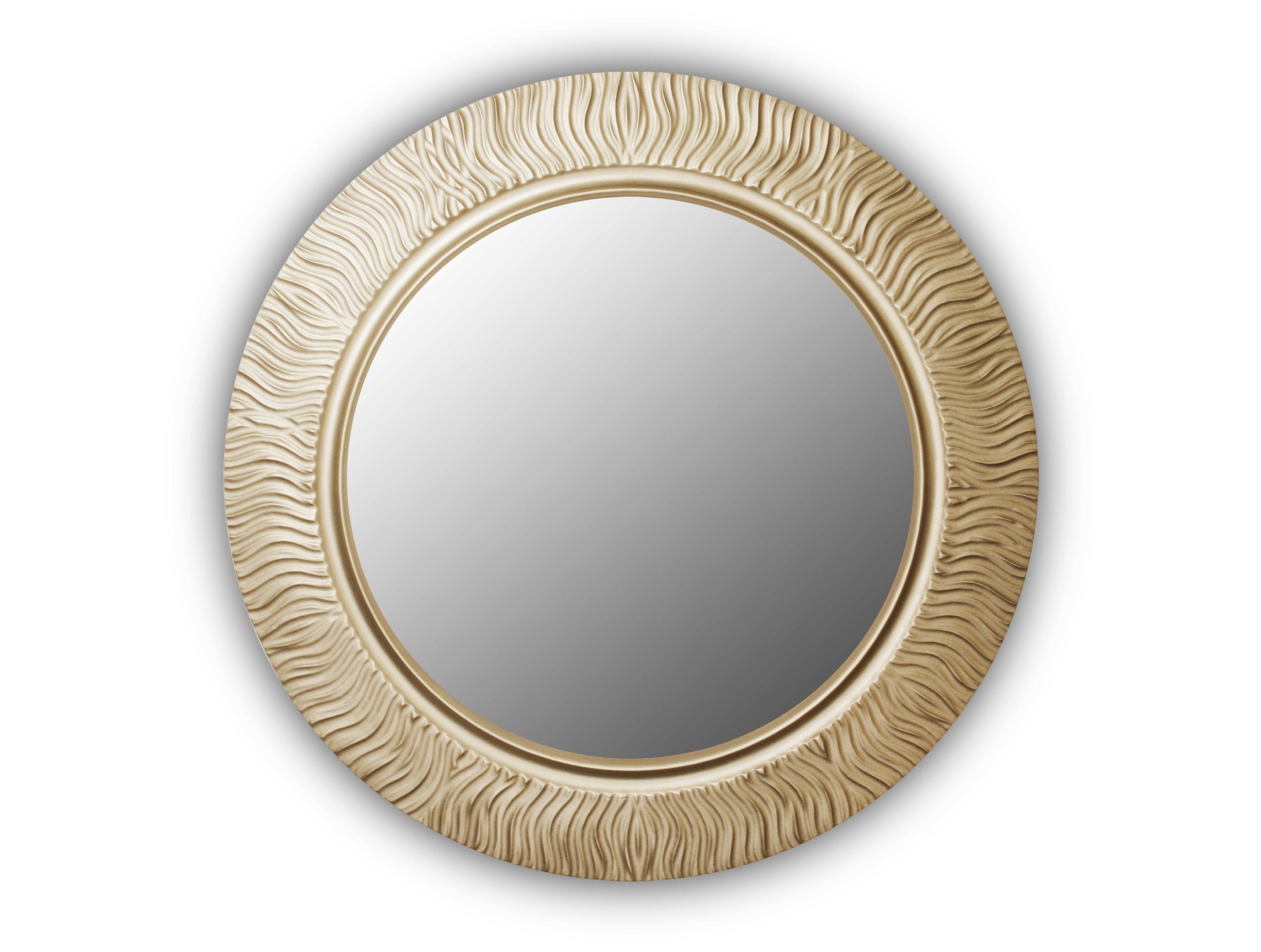 Зеркало Fashion waveНастенные зеркала<br>Патина&amp;amp;nbsp;&amp;lt;div&amp;gt;Возможен заказ изделий размерами 90 см, 75 см, 65 см&amp;lt;/div&amp;gt;<br><br>Material: Дерево<br>Height см: 3.6<br>Diameter см: 90