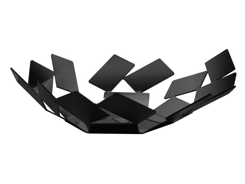 Блюдо la stanza dello scirocco (alessi) черный 24x6x23 см.