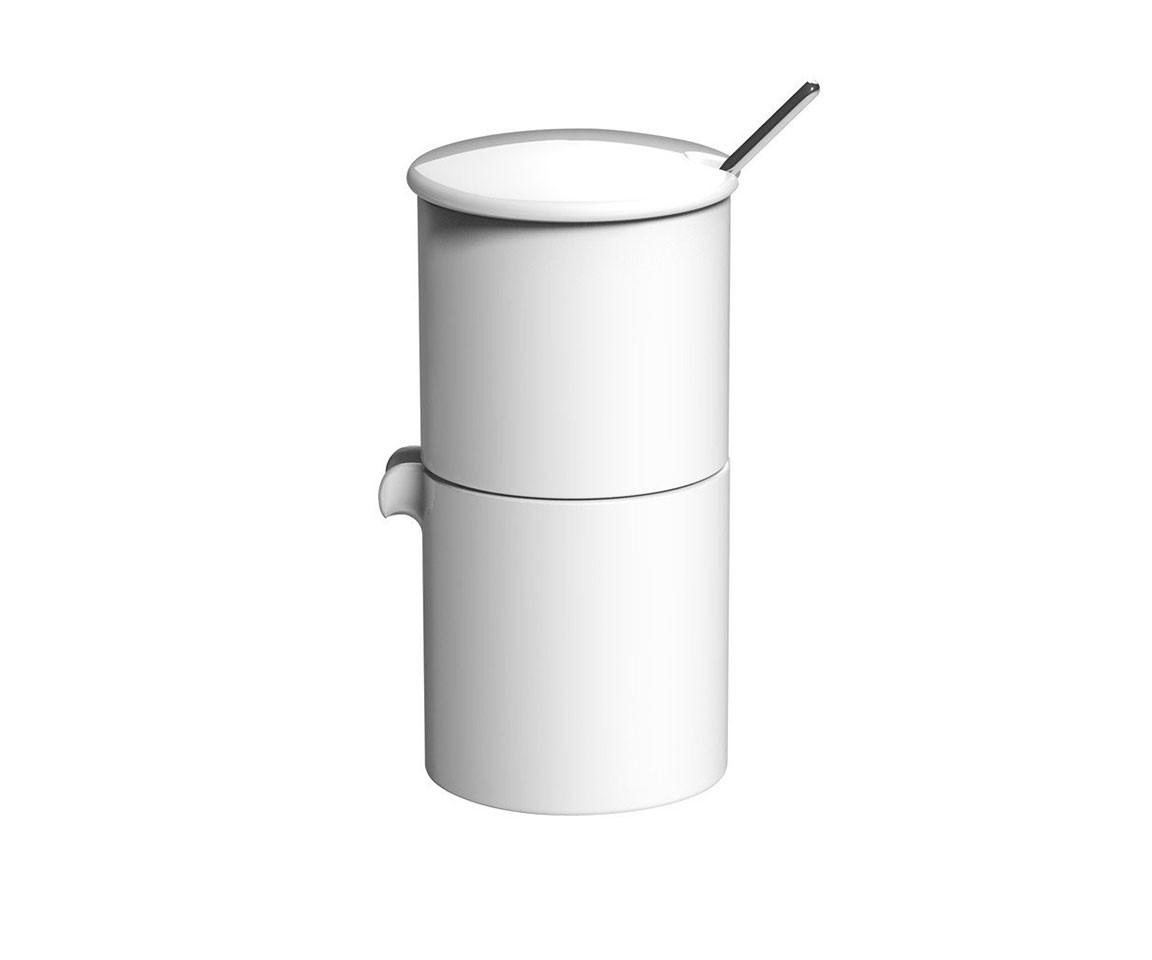 Набор: сахарница + молочник + ложечкаКофейники и молочники<br>Гонконгская компания LOVERAMICS занимает одну из первых позиций в Азии по производству посуды из костяного фарфора. Для изделий бренда характерны высокое качество и универсальный дизайн. Чашки, тарелки, пиалы отлично подходят как для китайской, так и для итальянской, французской кухни. Блюда из риса, паста, супы выглядят одинаково аппетитно.&amp;lt;div&amp;gt;&amp;lt;br&amp;gt;&amp;lt;/div&amp;gt;&amp;lt;div&amp;gt;Объем: 90 мл.&amp;lt;br&amp;gt;&amp;lt;/div&amp;gt;<br><br>Material: Фарфор