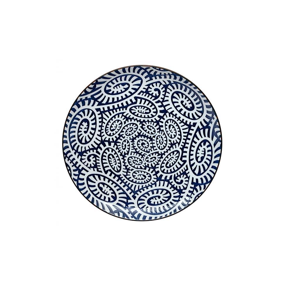 ТарелкаТарелки<br>TOKYO – ведущая компания по производству посуды из фарфора и керамики. Особый дизайн и качественное исполнение делают ее востребованной и узнаваемой во всем мире.<br><br>Material: Фарфор<br>Diameter см: 21,5