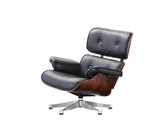 Кресло Eames LoungeКожаные кресла<br>ROOMERS – это особенная коллекция, воплощение всего самого лучшего, модного и новаторского в мире дизайнерской мебели, предметов декора и стильных аксессуаров.<br>Интерьерные решения от ROOMERS – всегда актуальны, более того, они - на острие моды. Коллекции ROOMERS тщательно отбираются и обновляются дважды в год специально для вас.<br><br>Material: Кожа<br>Width см: 83<br>Depth см: 87<br>Height см: 94