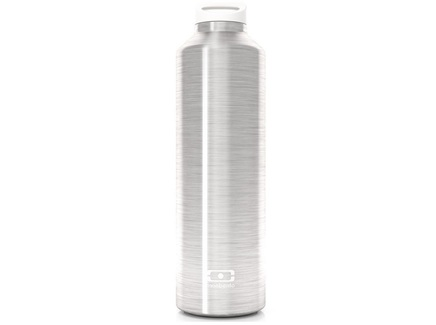 Термос (monbento) серебристый 23 см.
