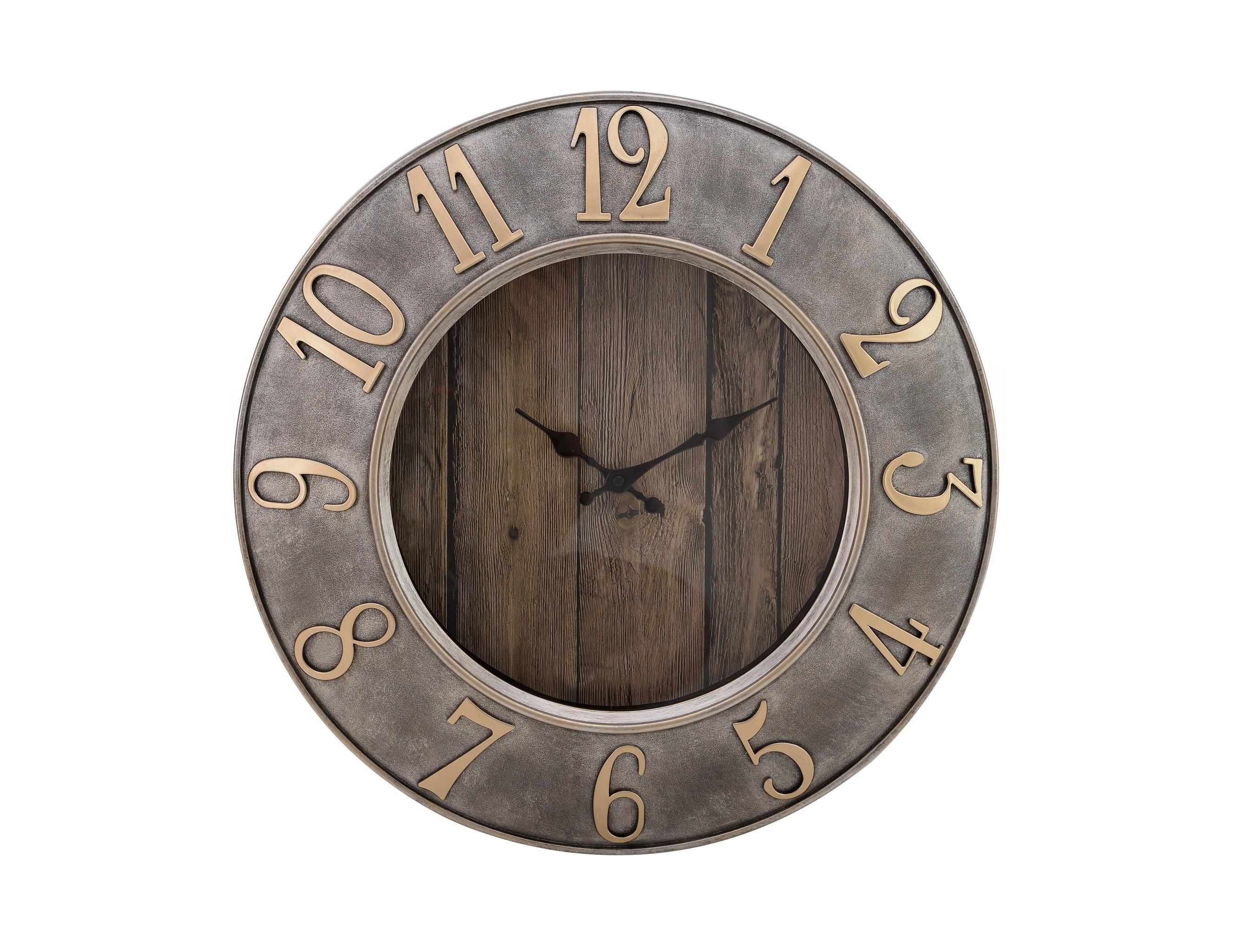 Часы настенные DecrestoНастенные часы<br>Механизм: кварцевый<br><br>Material: Пластик<br>Width см: 50<br>Depth см: 5<br>Height см: 50