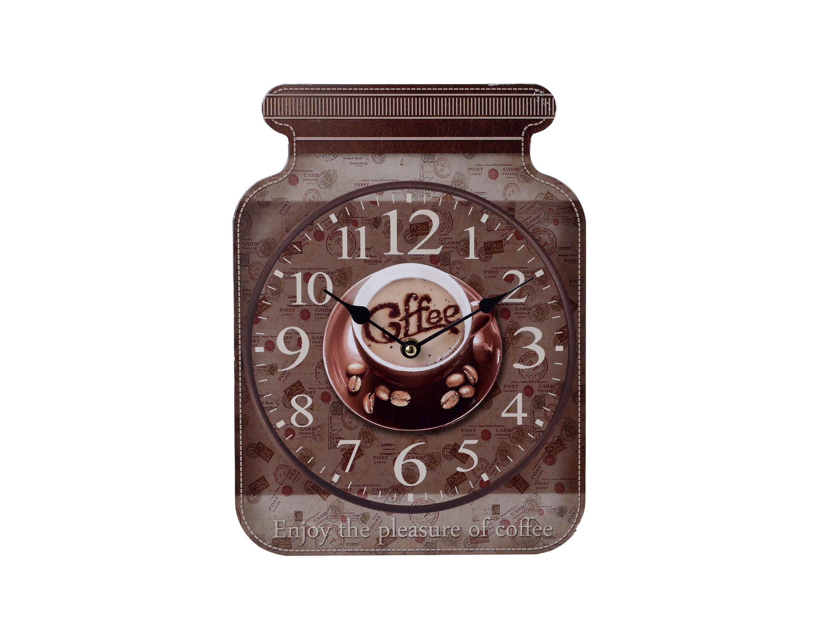 Часы настенные Definio AlfaНастенные часы<br>Механизм: кварцевый<br><br>Material: МДФ<br>Width см: 23<br>Depth см: 4<br>Height см: 31