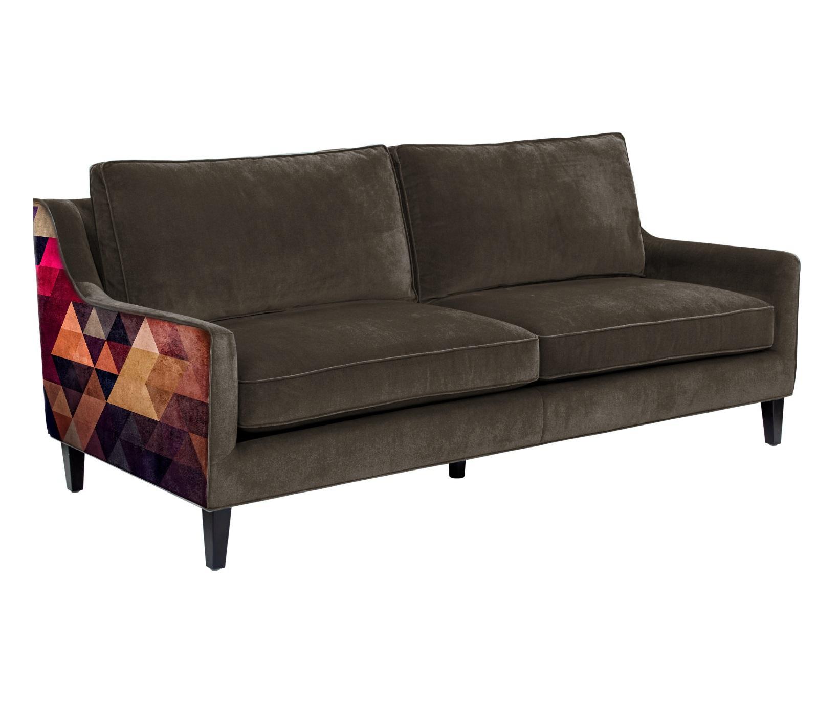 Icon designe диван triangle коричневый  65835/5