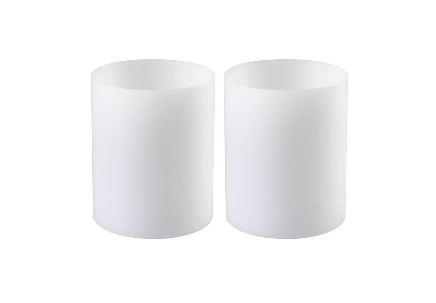 Свеча  (2шт)Подсвечники<br>Набор из двух подсвечников Artificial Candle deep set of 2. Имитация небольшой свечи. Цвет - белый.<br><br>Material: Пластик<br>Высота см: 12