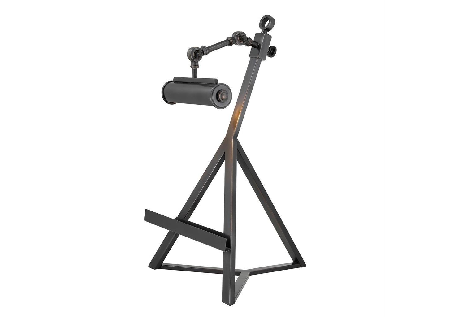 Настольная лампаДекоративные лампы<br>Лампа для рабочего стола c подставкой для книг Book Stand Franklin с регулируемой лампой. Выполнена из металла бронзового цвета.&amp;lt;div&amp;gt;&amp;lt;br&amp;gt;&amp;lt;/div&amp;gt;&amp;lt;div&amp;gt;&amp;lt;div&amp;gt;Тип цоколя: E14&amp;lt;/div&amp;gt;&amp;lt;div&amp;gt;Мощность: 40W&amp;lt;/div&amp;gt;&amp;lt;div&amp;gt;Кол-во ламп: 1 (нет в комплекте)&amp;lt;/div&amp;gt;&amp;lt;/div&amp;gt;<br><br>Material: Металл<br>Ширина см: 32<br>Высота см: 57<br>Глубина см: 32