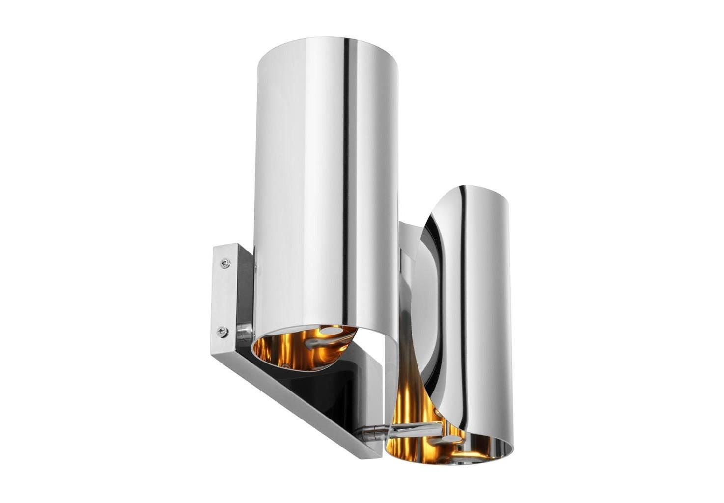 Настенный светильникБра<br>Настенный светильник Wall Lamp Crawley выполнен из никелированного металла.&amp;lt;div&amp;gt;&amp;lt;br&amp;gt;&amp;lt;/div&amp;gt;&amp;lt;div&amp;gt;&amp;lt;div&amp;gt;Тип цоколя: E14&amp;lt;/div&amp;gt;&amp;lt;div&amp;gt;Мощность: 40W&amp;lt;/div&amp;gt;&amp;lt;div&amp;gt;Кол-во ламп: 2 (нет в комплекте)&amp;lt;/div&amp;gt;&amp;lt;/div&amp;gt;<br><br>Material: Металл<br>Width см: 38<br>Depth см: 11<br>Height см: 21