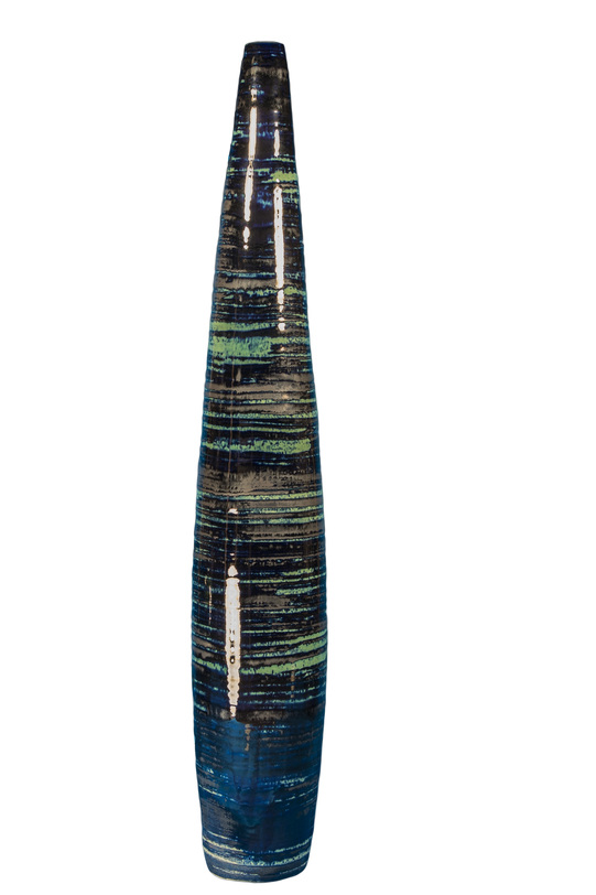 Ваза декоративная большая MaelstormВазы<br><br><br>Material: Керамика<br>Length см: None<br>Width см: None<br>Depth см: None<br>Height см: 69.0<br>Diameter см: 12.0