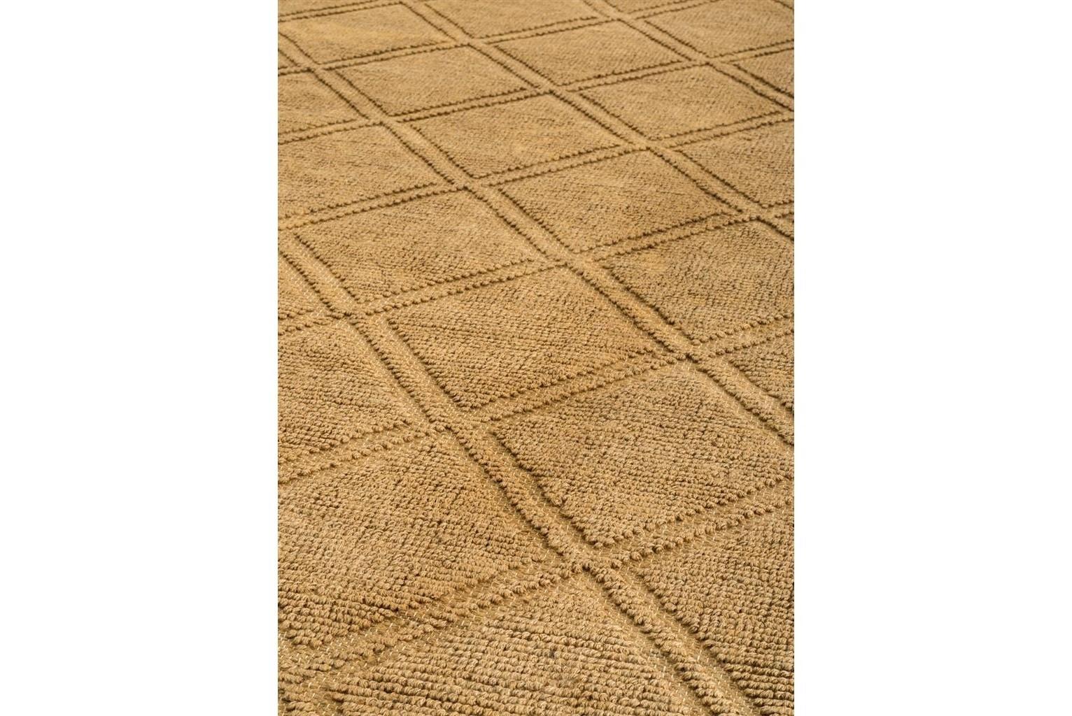 КоверПрямоугольные ковры<br>Ковер Carpet Karine выполнен из прядильной грубой ткани - 100% джут. Цвет: горчичный. Ручная работа.<br><br>Material: Джут<br>Width см: 300<br>Depth см: 200