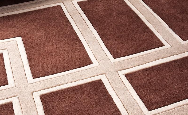 КоверПрямоугольные ковры<br>Ковер Carpet Cullen из 100% новозелландской шерсти. Цвет: коричневый с бежевым орнаментом. Ручная работа.<br><br>Material: Шерсть<br>Width см: 400<br>Depth см: 300